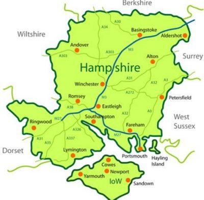 map of north hampshire Hampshire North Narpo map of north hampshire